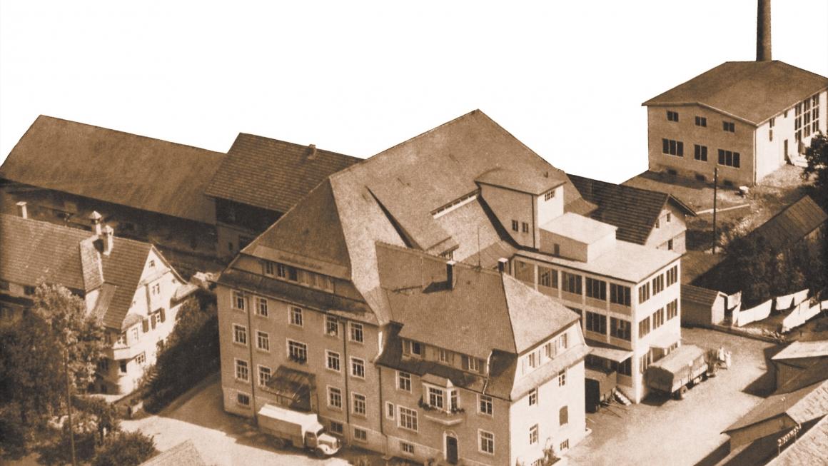 Hochland Käserei-Werk um 1931