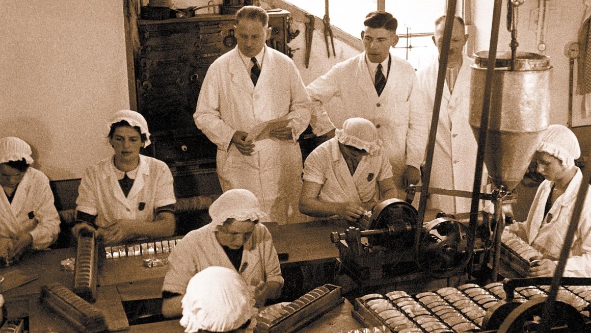 Hochland Mitarbeiter*innen 1928