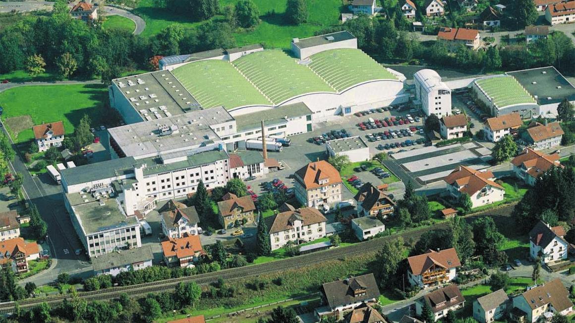 Neubau Hochland Werk um 1975