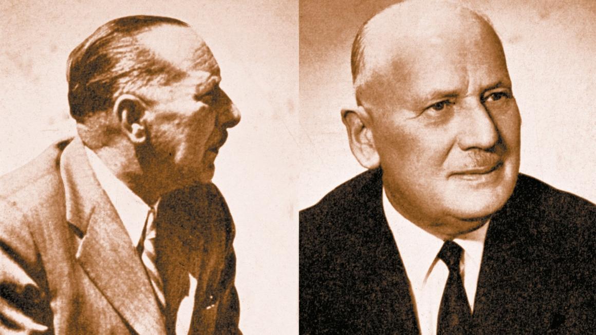 Georg Summer und Robert Reich